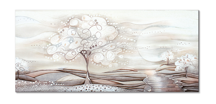 cartapietra 1014106ba picture tree of dreams white