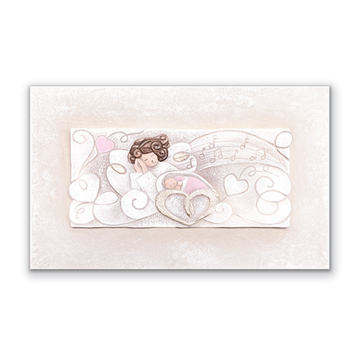 cartapietra small picture (Battesimo) Melodia d'Amore pink