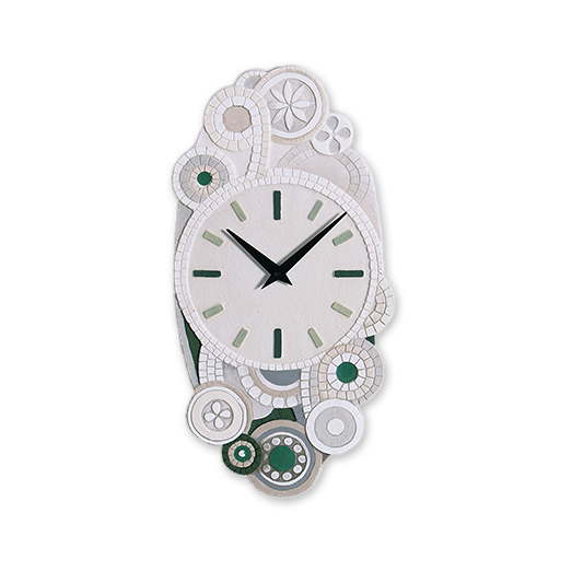 cartapietra clock eclettica green