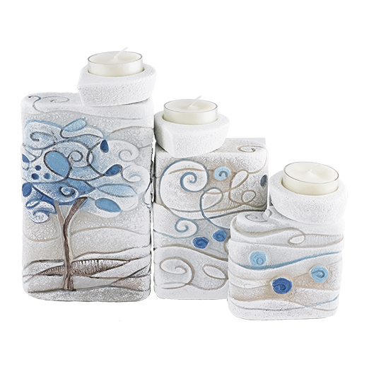 cartapietra candle holders Tris tree of dreams Sugar paper